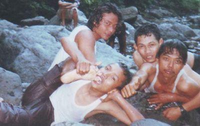 Supriyanto (paling kanan) di Monthel Muria