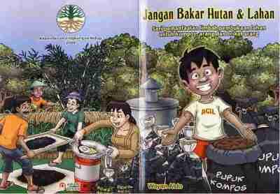 Komik jangan bakar hutan