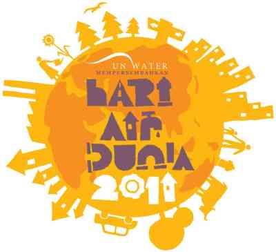 Logo Hari Air Sedunia dalam bahasa Indonesia