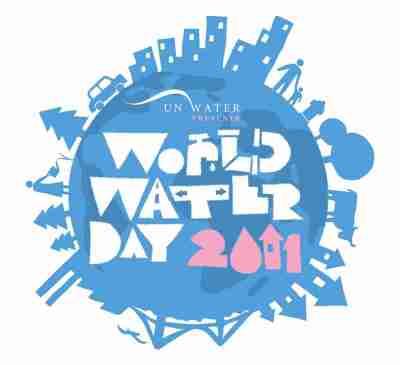 Logo Hari Air Sedunia 2011 dalam bahasa Inggris