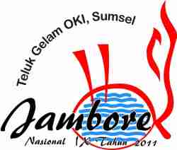 Logo Jamnas IX 2011 Teluk Gelam Sumatera Selatan