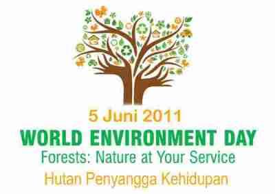 logo hari lingkungan hidup sedunia 2011