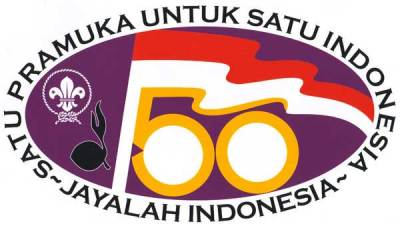 Logo 50 Tahun Pramuka