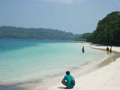Pantai Pulau Peucang