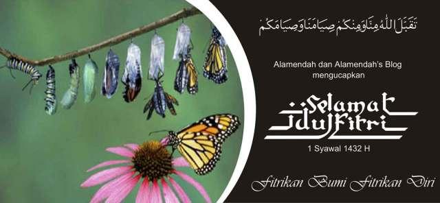 Selamat Idul Fitri; Fitrikan Bumi Fitrikan Diri
