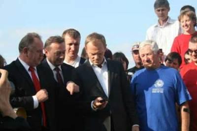 Perdana Menteri Polandia berikan vote untuk Masurian Lake District