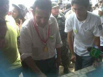 Presiden Peru mendukung Amazon