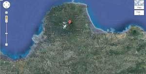 Peta Gunung Muria