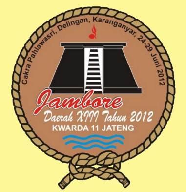 Logo Jambore Daerah Jateng 2012