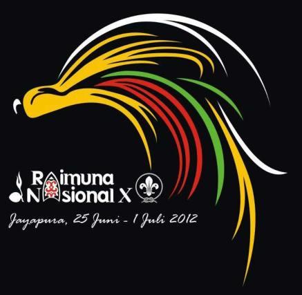 Logo Raimuna Nasional X 2012