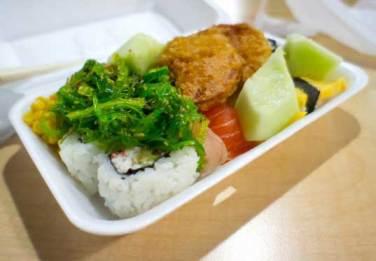 Styrofoam sebagai pembungkus makanan