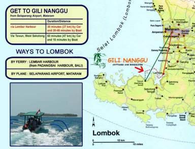 Lokasi Gili Nanggu