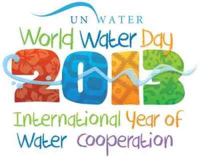 Logo Hari Air Dunia 2013