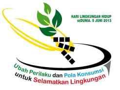 Logo Hari Lingkungan Hidup 2013 di Indonesia