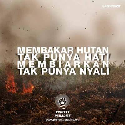 Hentikan kabut asap