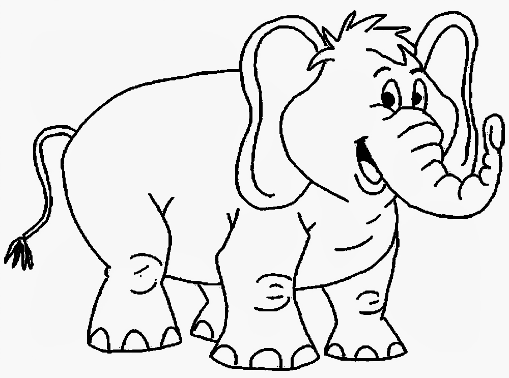 Download Mewarnai Gambar Gajah Alamendahs Blog