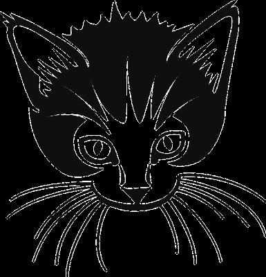 Gambar kepala kucing