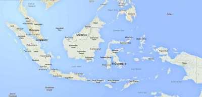 Nama Laut di Indonesia