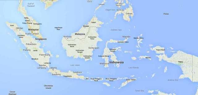 Daftar Nama Laut Di Indonesia Alamendah S Blog