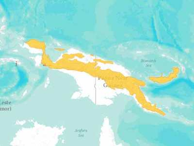 Daerah Sebaran Kasuari Kerdil