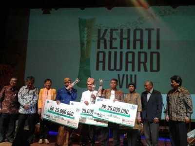 Penerima Kehati Award 2015