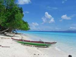 Pantai Hunimua Liang, Maluku Tengah