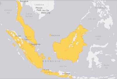 Daerah Sebaran Cucak Hijau