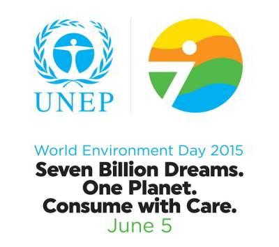 Logo Hari Lingkungan Hidup Sedunia 2015