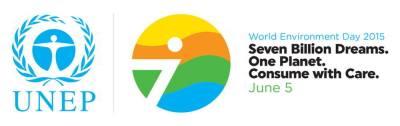 Logo Hari Lingkungan Hidup Sedunia Tahun 2015
