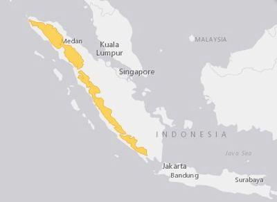Daerah Sebaran Luntur Sumatera