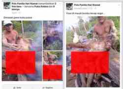 Polo Panitia Hari Kiamat Menyiksa Hewan Orangutan