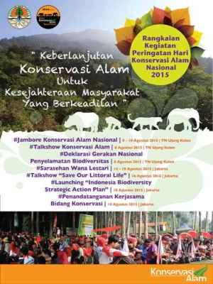 Hari Konservasi Alam Nasional 2015