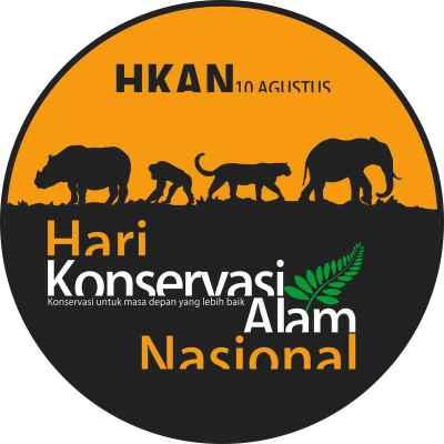 Logo Hari Konservasi Alam Nasional