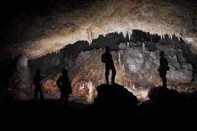 Goa Luweng Jaran salah satu goa di Gunung Sewu