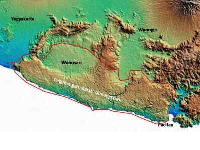 Kawasan Geopark Gunung Sewu