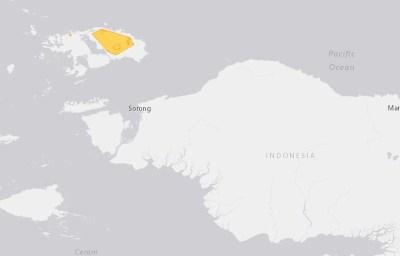 Daerah Sebaran Maleo Waigeo (Aepypodius bruijnii)