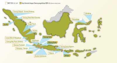 Peta Lokasi PLTP