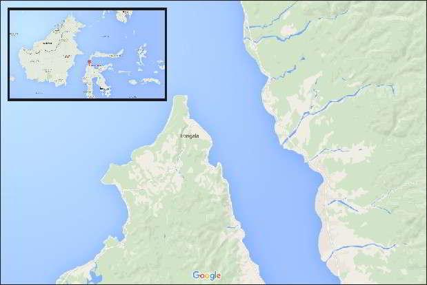 Lokasi Pantai Tanjung Karang